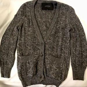 Rachel Comey Gray Alpaca Cardigan Sweater